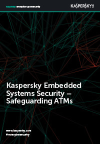 Kaspersky Embedded Systems Security – for beskyttelse av minibanker