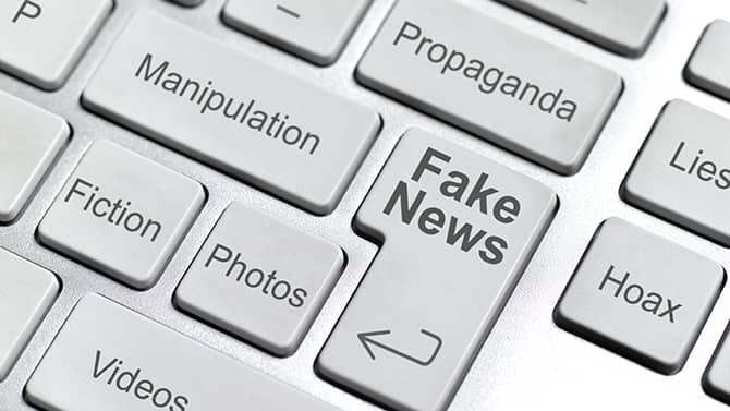 Eksempler på falske nyheter