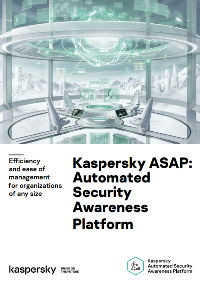 KASPERSKY AUTOMATED SECURITY AWARENESS PLATFORM (ASAP) – DATAARK